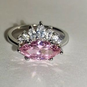 Jewelry - Pink Stone Cocktail Ring